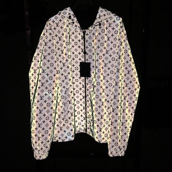 9be2bb27949 Louis Vuitton 3M Reflective Windbreaker Jacket Boutique